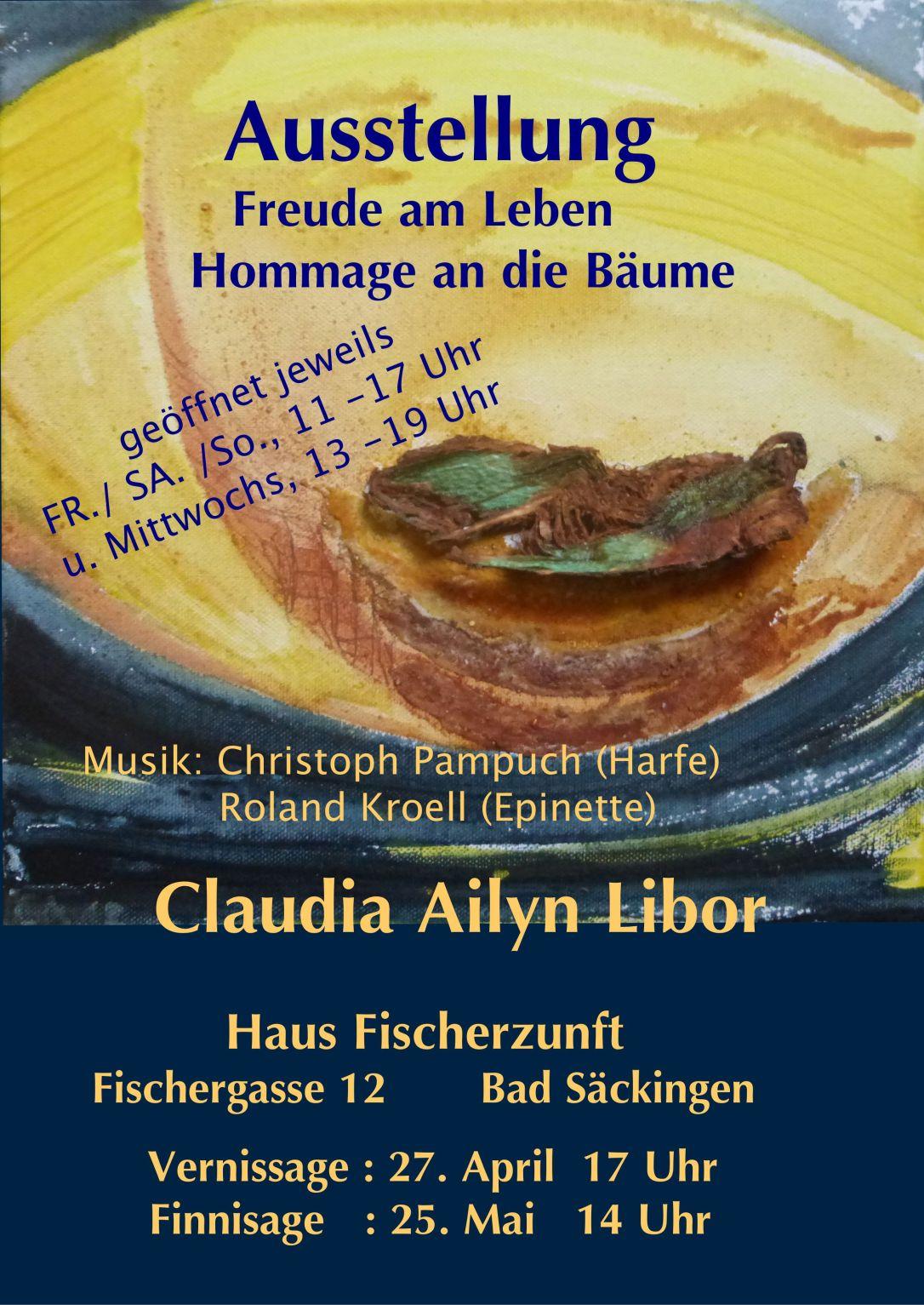 Claudia Ausst,Einladung 1 psf